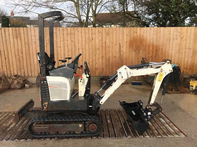 Bobcat E 10, Mini excavators < 7t (Mini diggers), Construction