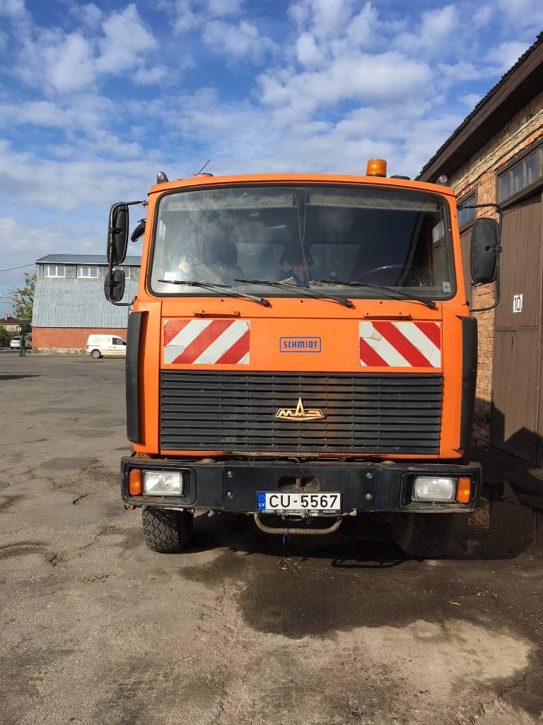 MAZ МАЗ 5551, Sweepers, Groundscare machinery