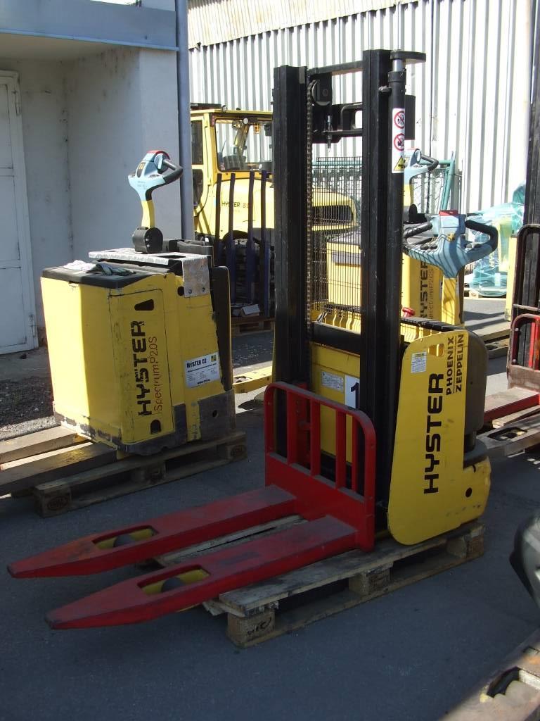 Hyster S1.0, Pedestrian stacker, Material Handling