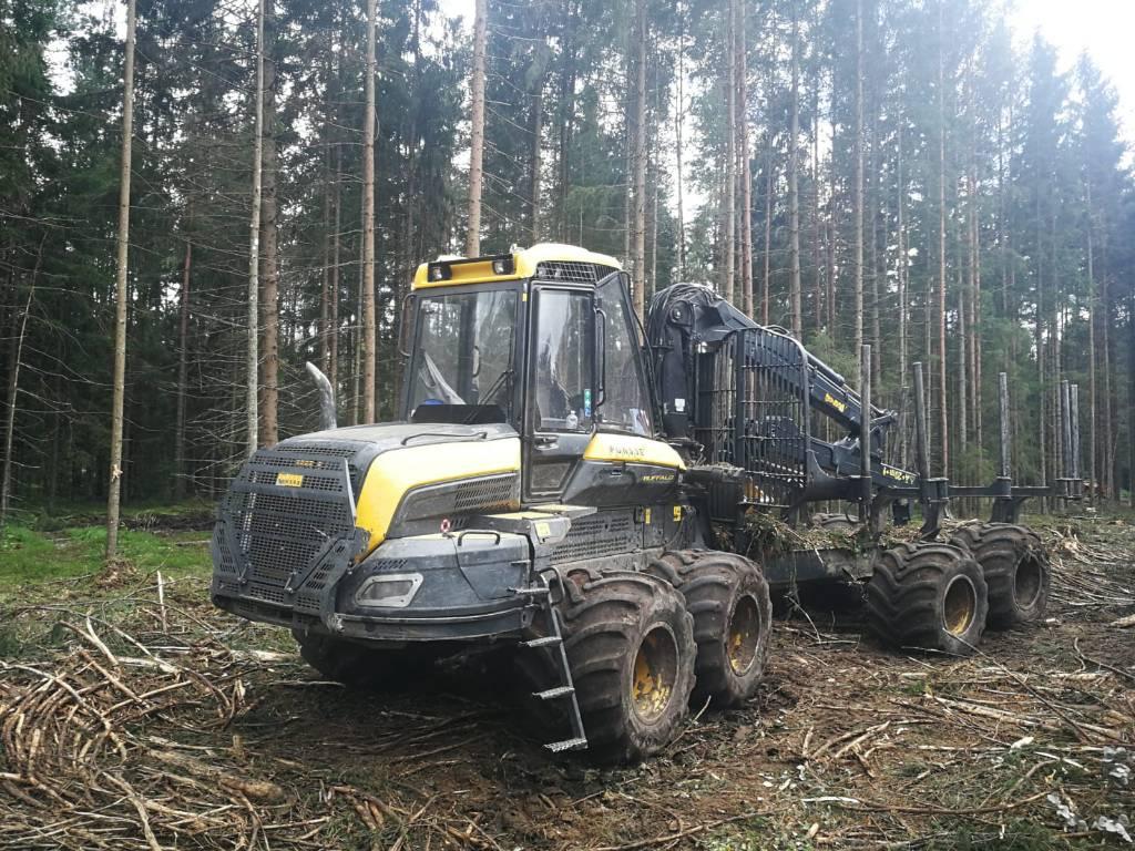 Ponsse Buffalo 8W, Naudoti miškovežiai (Forvarderiai), Miško technika