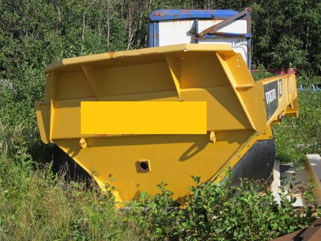 Volvo A 30 F Korg, Midjestyrd dumper, Entreprenad
