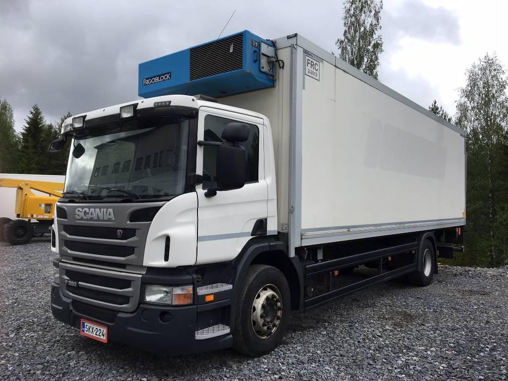 Scania P 280 4x2, Kylmä-/Lämpökori kuorma-autot, Kuljetuskalusto