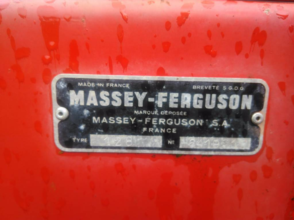 Massey Ferguson 128 Square baler, Square balers, Agriculture