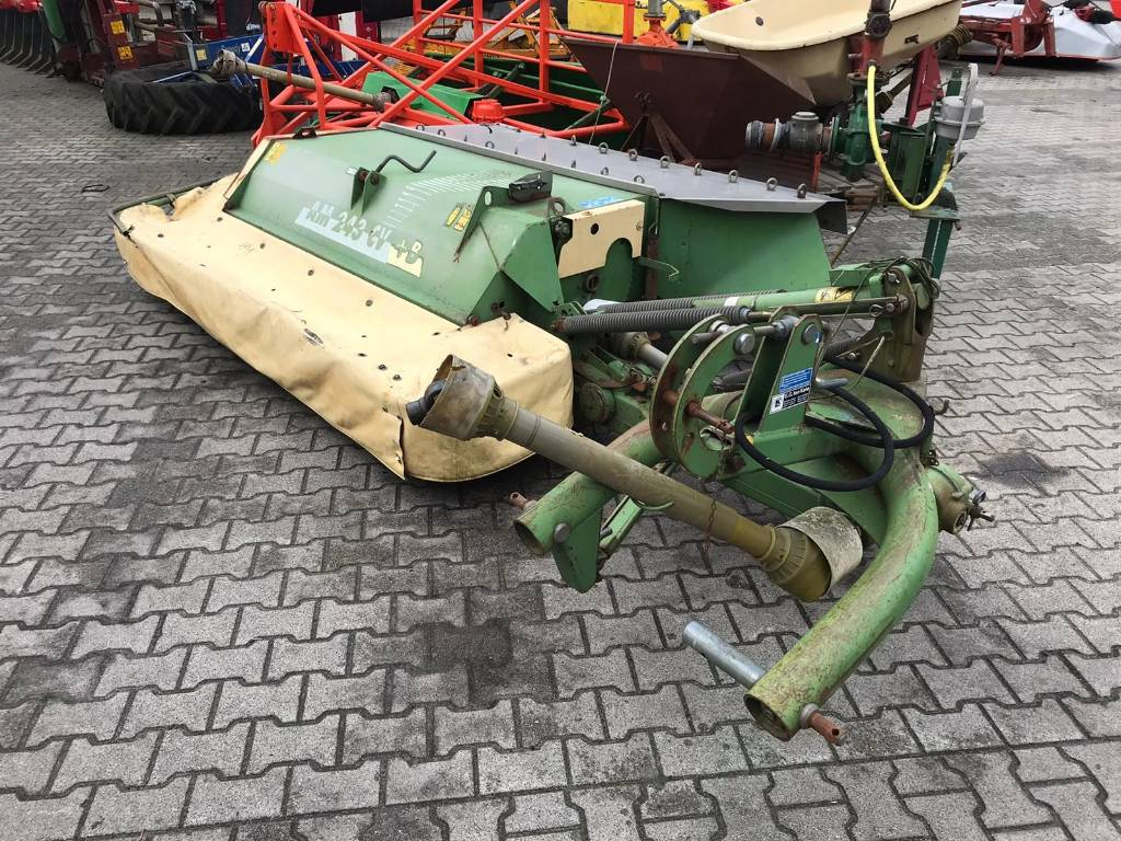Krone AM 243 CV+B, Mower-conditioners, Agriculture