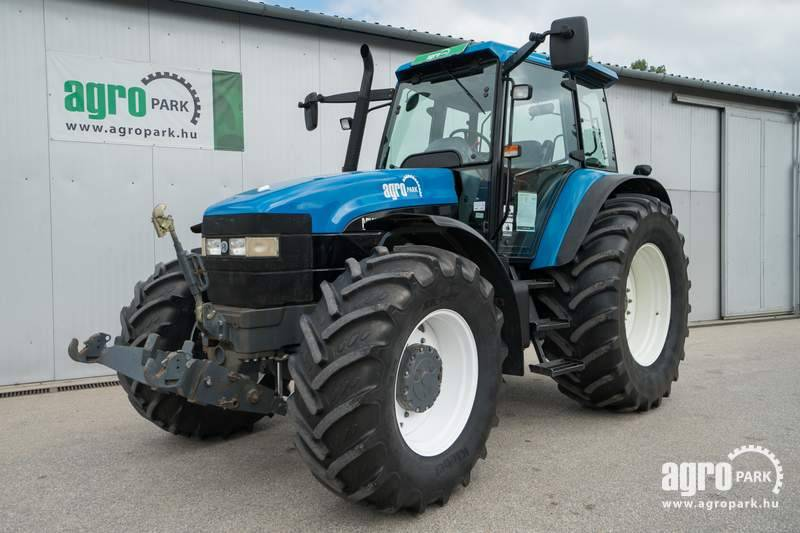 New Holland TM 150 (5690 hours), Front axle suspension