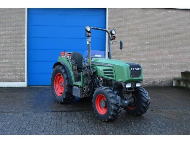 Fendt 206 VA Cabrio Smalspoor, Tractoren, Landbouw