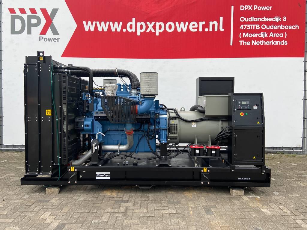 Atlas Copco DTA 880 - MTU - 880 kVA Generator - DPX-19419-2, Diesel generatoren, Bouw
