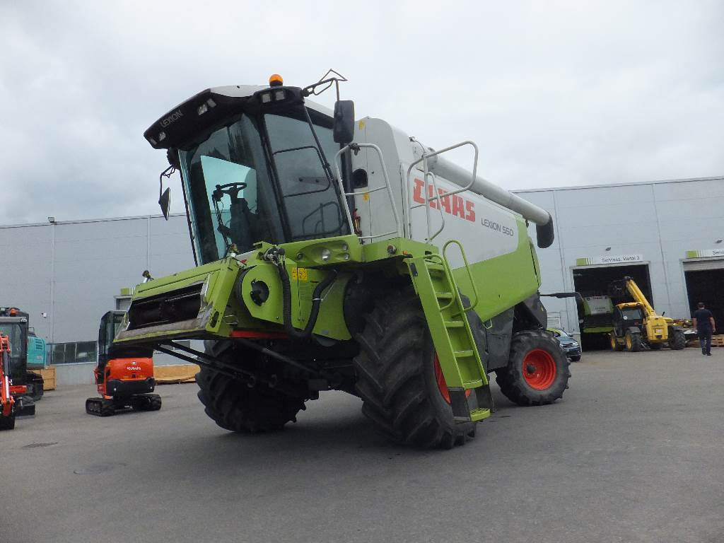 CLAAS Lexion 550, Combine harvesters, Agriculture