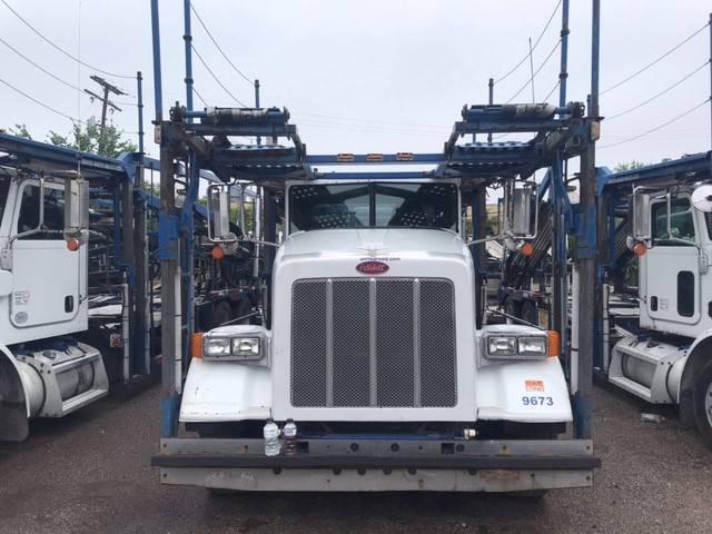 9673 Peterbilt 365, Car Haulers, Trucks and Trailers