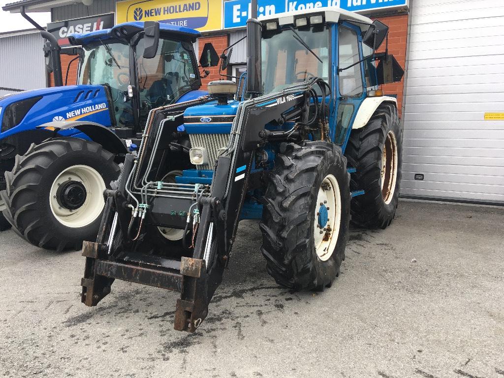 Ford 7810 II, Traktorit, Maatalous