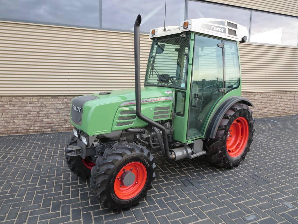 Fendt 207va smalspoor, Tractoren, Landbouw