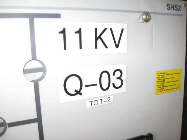 ABB Nät Transformator 22/11 Kv, Övrig gruvutrustning, Entreprenad