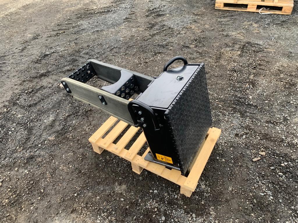 John Deere Fix Stairs 1270E, Podvozky a zavěšení kol, Lesní technika
