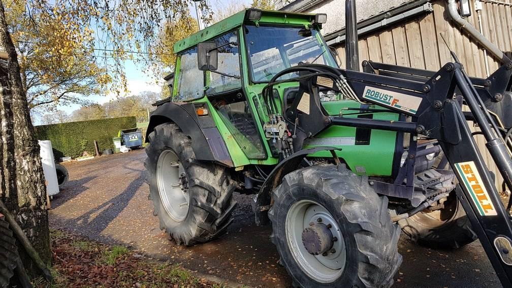 Deutz DX86, Tracteur, Agricole