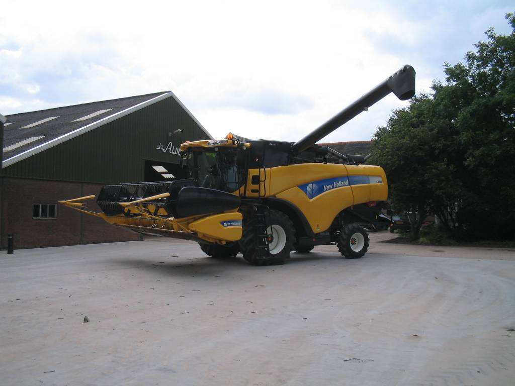 New Holland CX740, Maaidorsmachines, All Used Machines