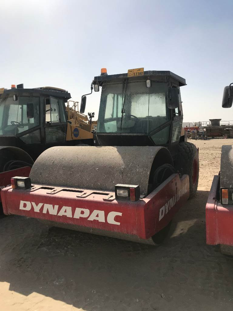 Dynapac CA 270 D (3pc), Single drum rollers, Construction