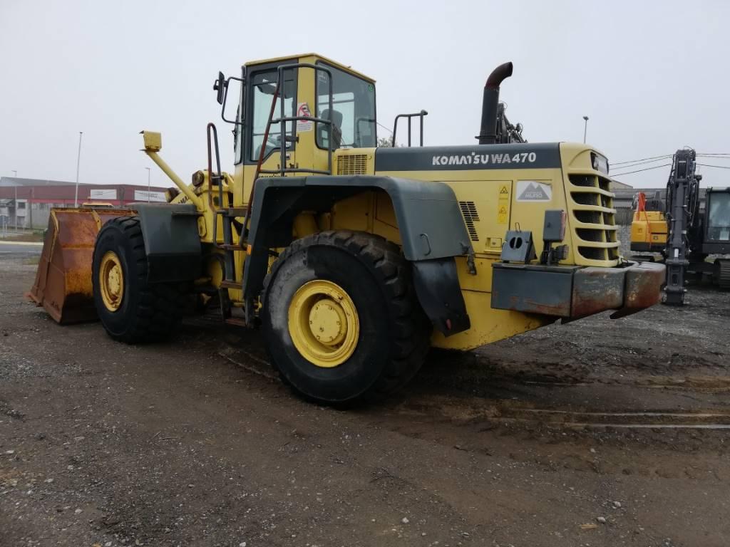 Komatsu WA 470-3, Wheel Loaders, Construction Equipment