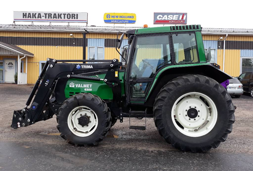 Valmet 6300, Traktorit, Maatalous