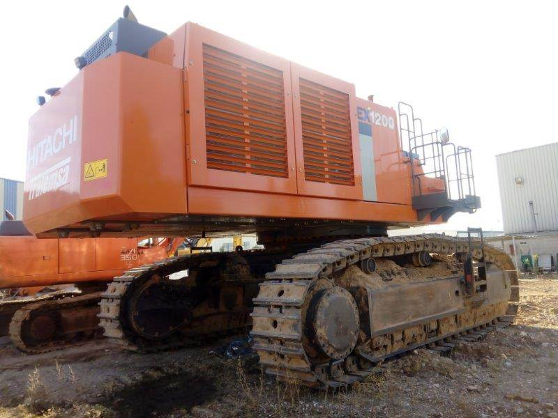 Hitachi EX 1200-6, Crawler Excavators, Construction Equipment