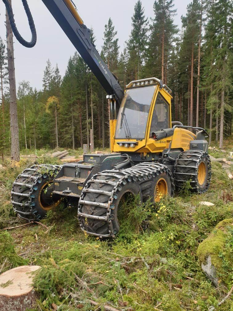 Eco Log 590E, Skördare, Skogsmaskiner