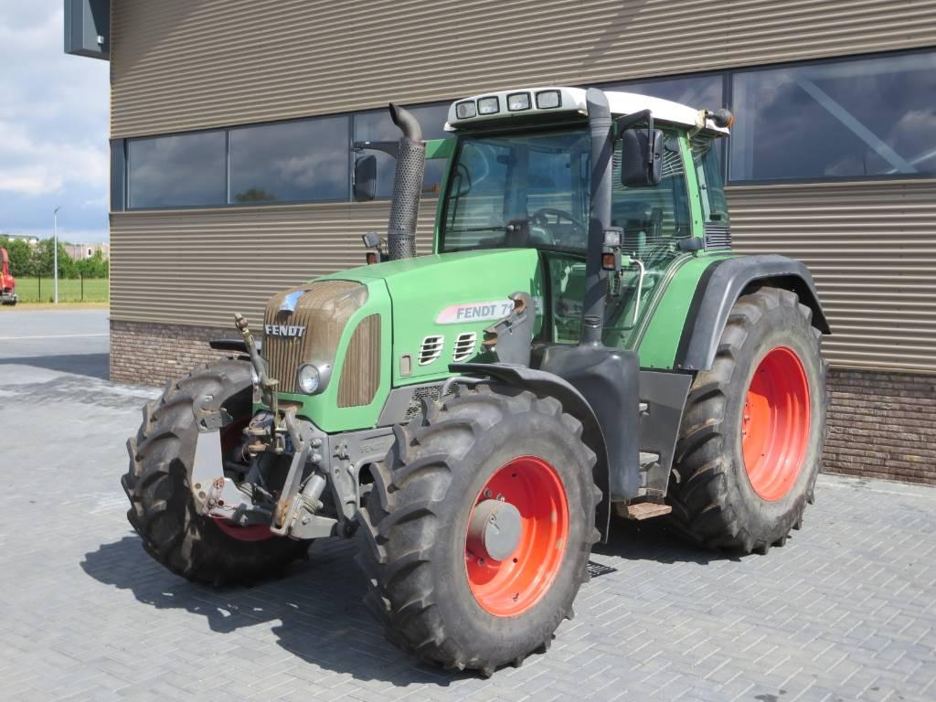 Fendt 712 vario tms com3, Tractoren, Landbouw