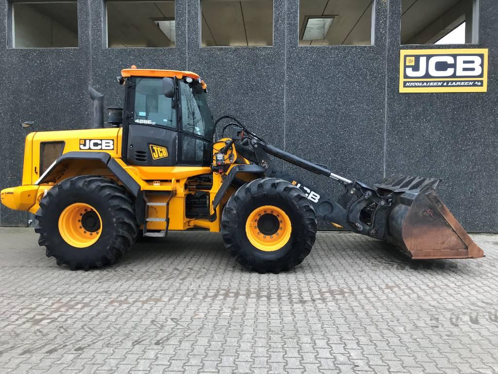 JCB 426 E HT, Læssemaskiner på hjul, Entreprenør