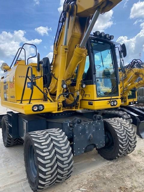 Komatsu PW160-10, Wheeled Excavators, Construction Equipment