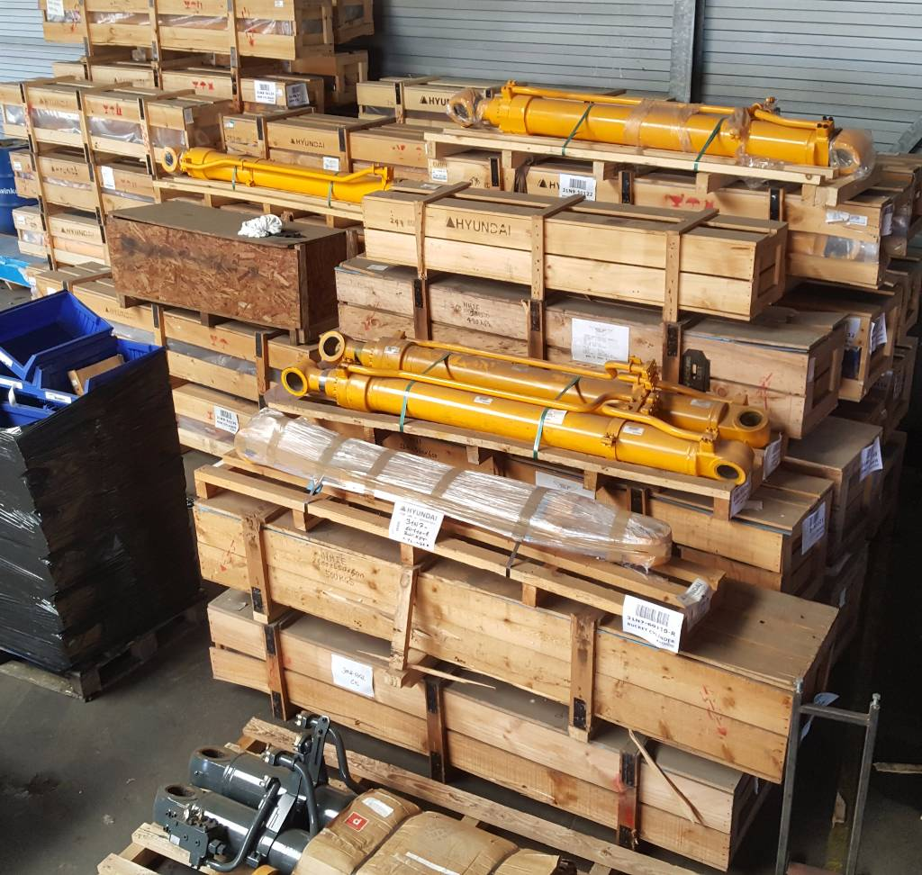 Hyundai Stick Cylinder - Robex 450 LC-7, Hydraulics, Construction