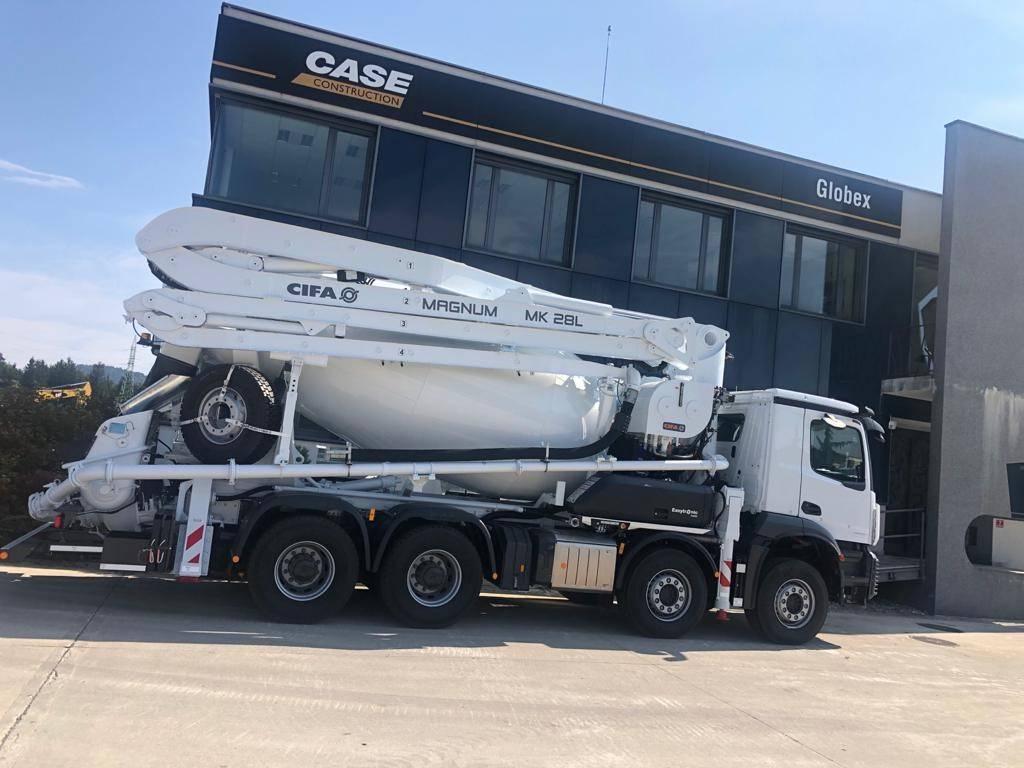 Mercedes-Benz Acros, Avtomešalci za beton, Transport