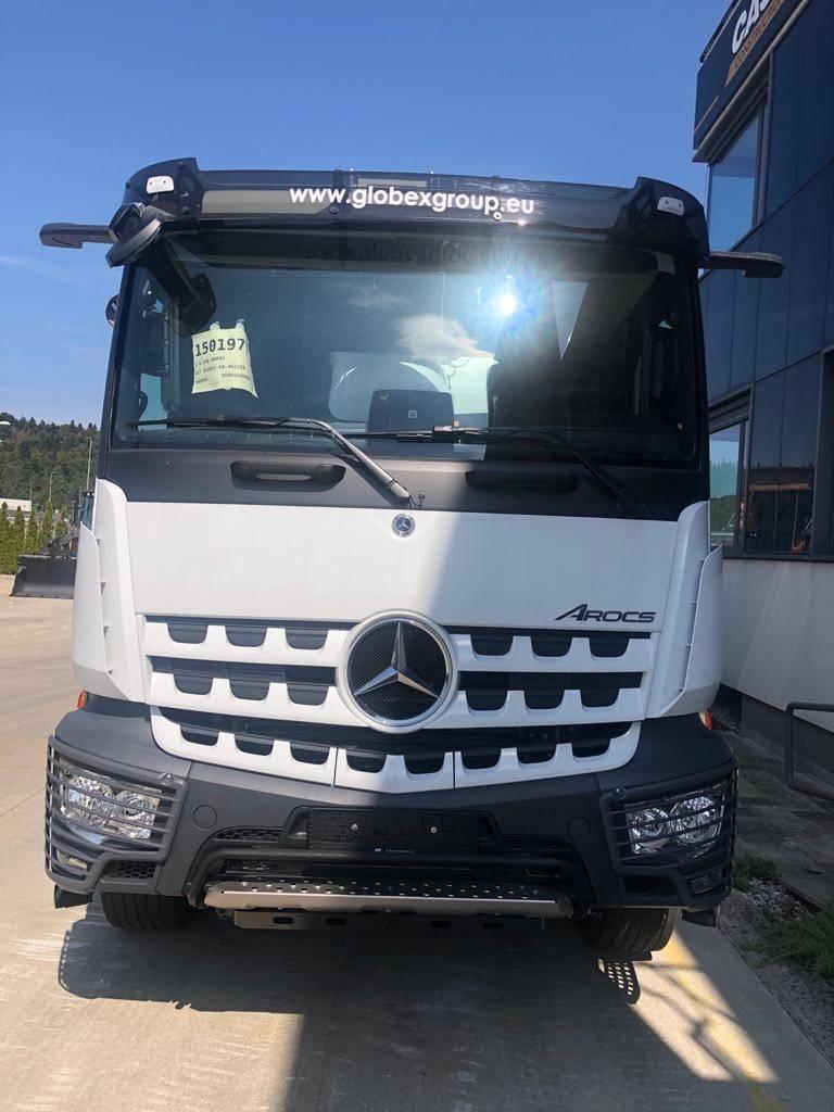 Mercedes-Benz Acros CIFA MAGNUM MK28L, Avtomešalci za beton, Transport