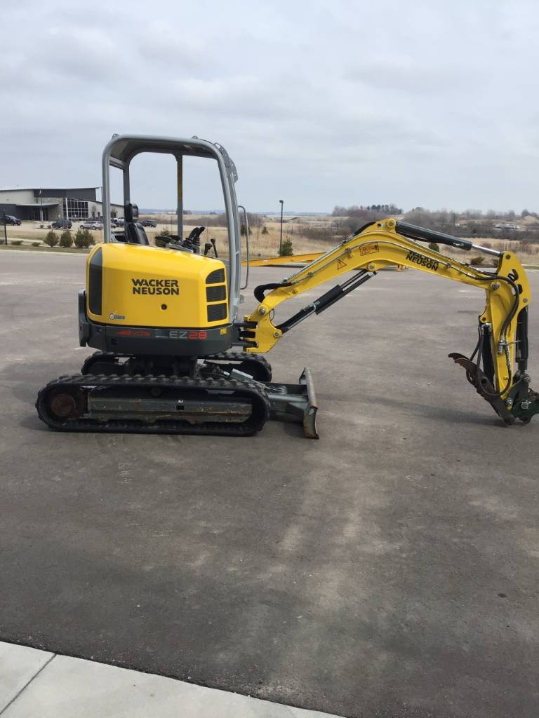 Wacker Neuson EZ28, Tracked / Mini excavators, Products