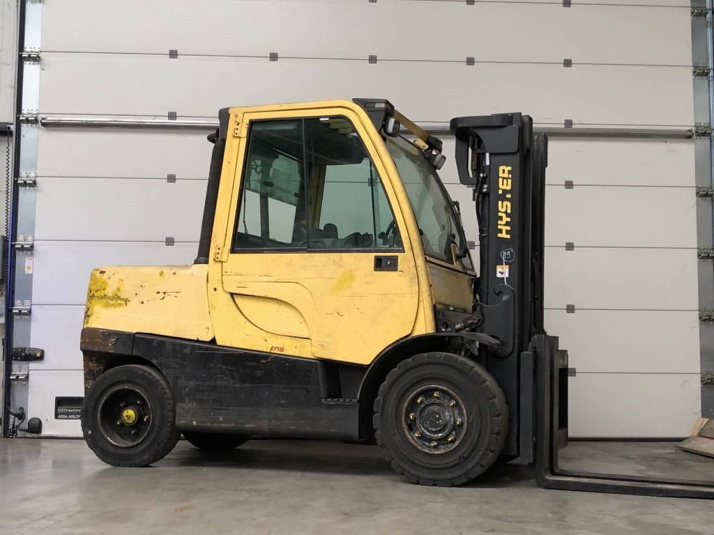 Hyster H5.5FT, Diesel heftrucks, Laden en lossen