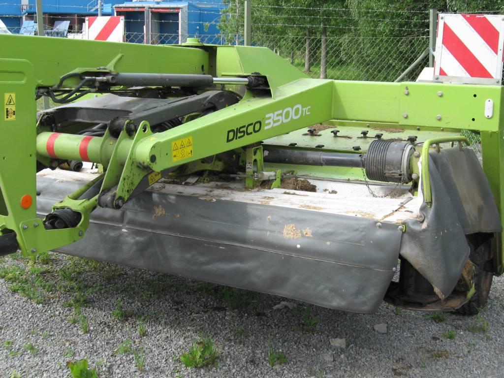 CLAAS rotorslåtterkross Disco 3500 TC, Slåtterkrossar, Lantbruk