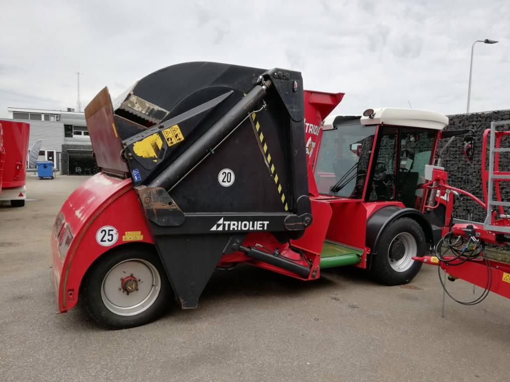 Trioliet Smartrac TS 1000, Voermengwagens zelfrijdend, Landbouw