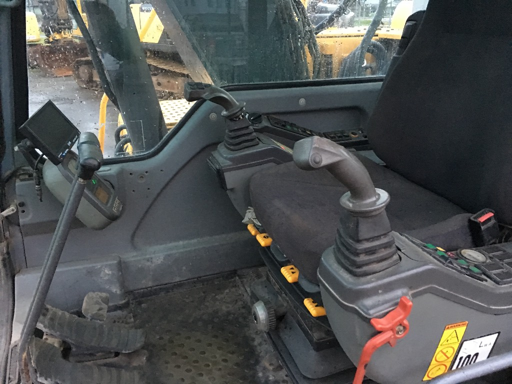 Volvo EC 140 B LC, Crawler excavators, Construction