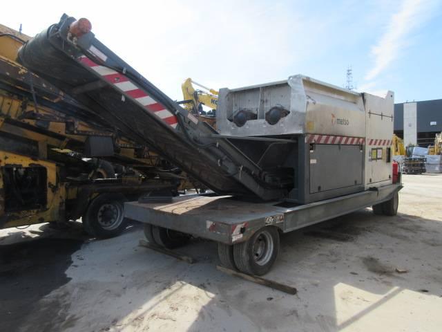 Metso M&J 1000M-7, Broyeur à déchets, Travaux Publics