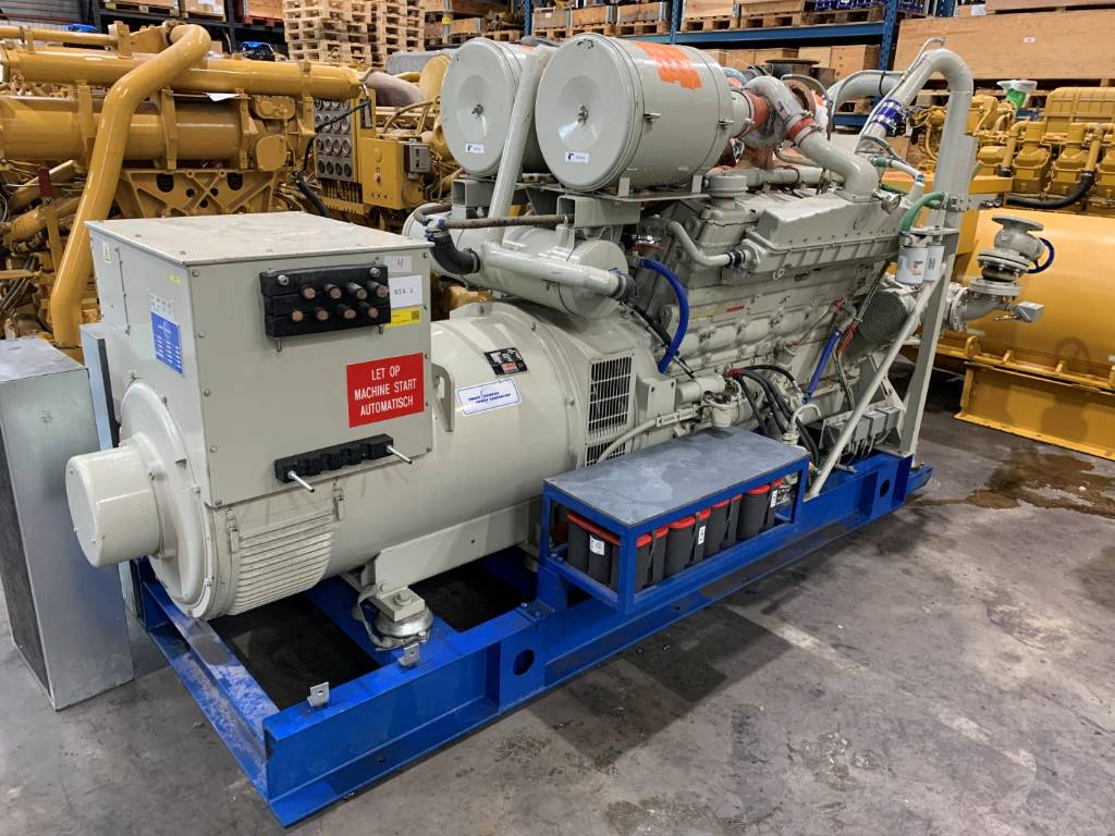 Cummins Used - VTA28GS2 - 512kW - 252, Diesel Generators, Construction