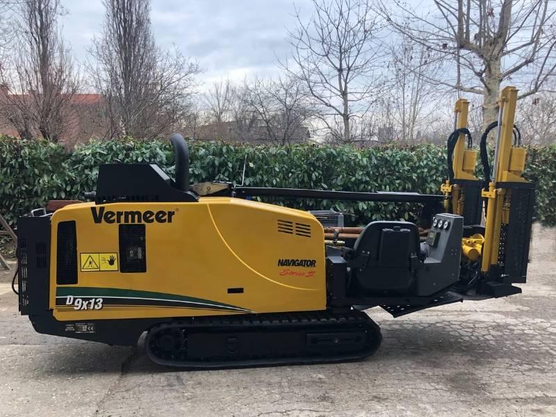 Vermeer D9x13 Serie II, Macchina per perforazione orizzontale controllata, Costruzioni