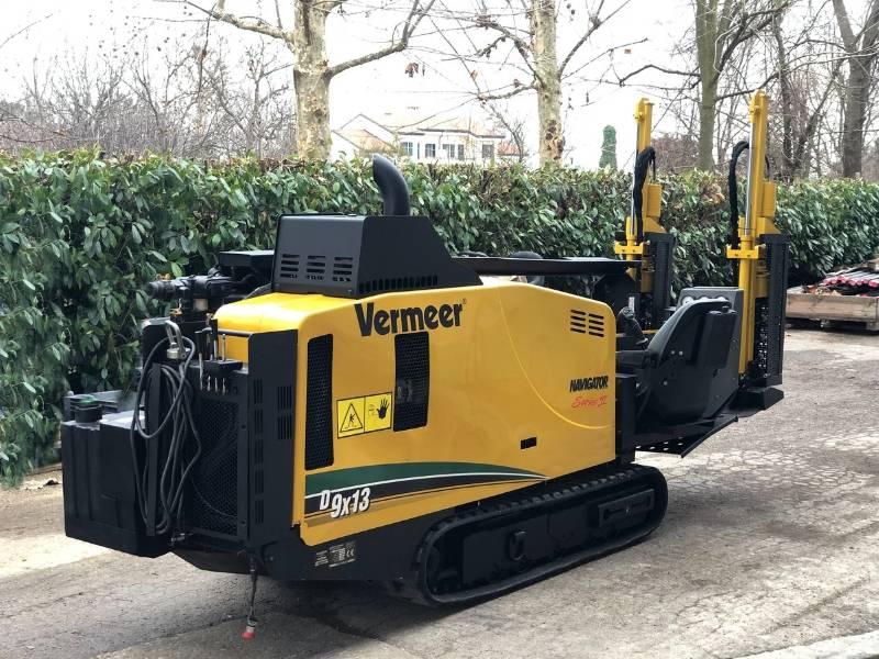 Vermeer D9x13 Serie II, Perforazione direzionale / T.O.C., Costruzioni