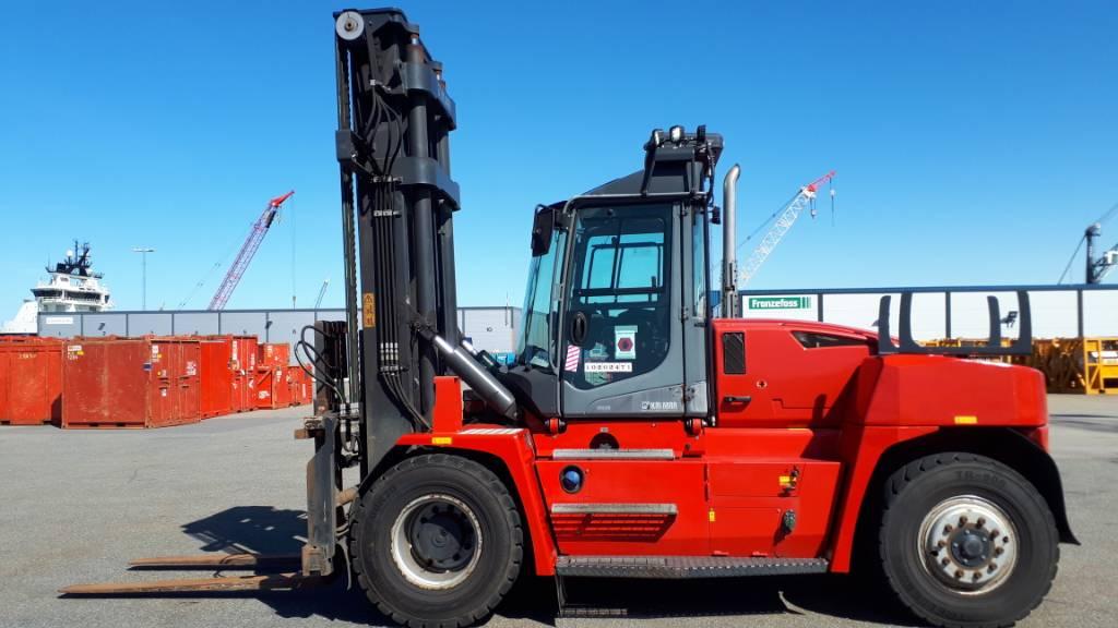 Kalmar DCG150-6, Dieseltrukit, Materiaalinkäsittely