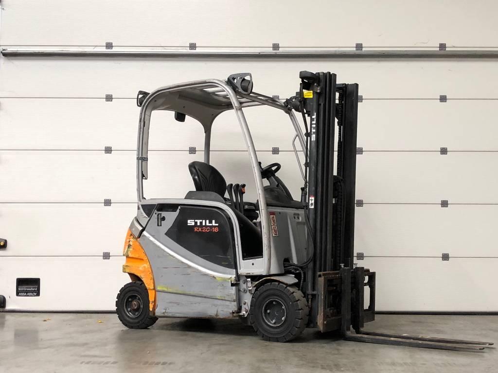 Still RX20-16P, Elektrische heftrucks, Laden en lossen