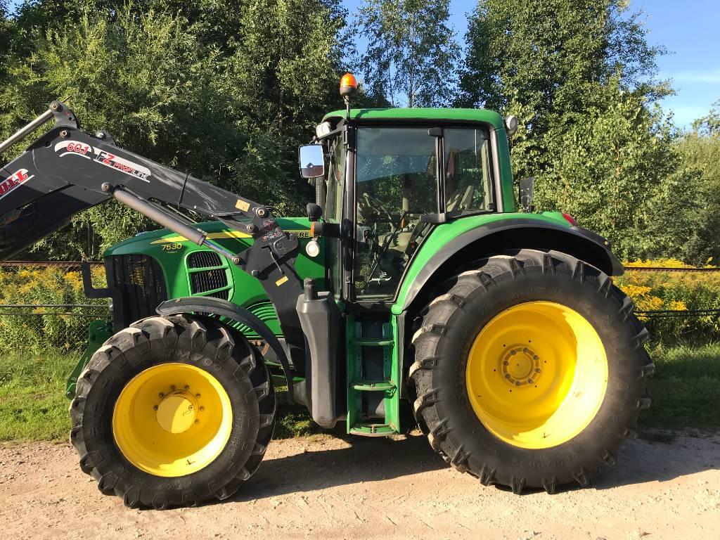 John Deere 7530, Tractors, Agriculture