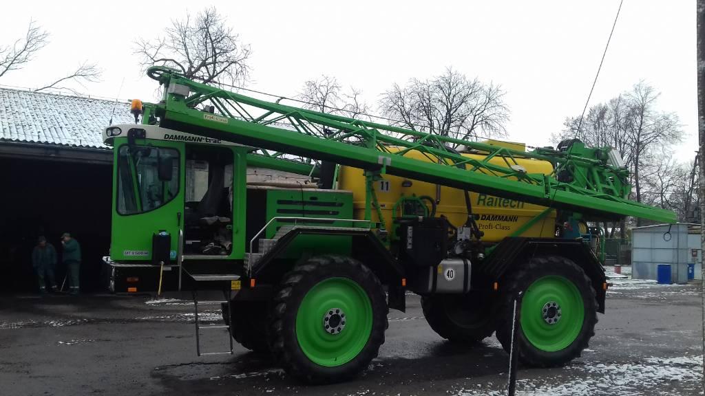Dammann DTP6036, Opryskiwacze samojezdne, Maszyny rolnicze