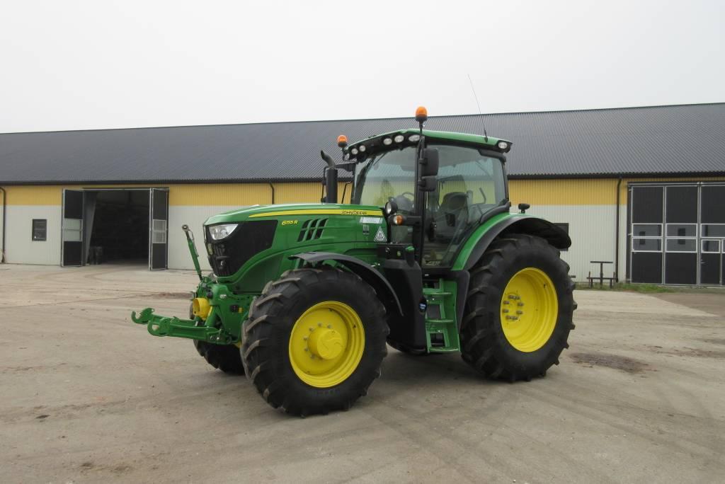 John Deere 6155R traktor, 50 reg, 1800 tim, Lantbruksmaskiner, Lantbruk