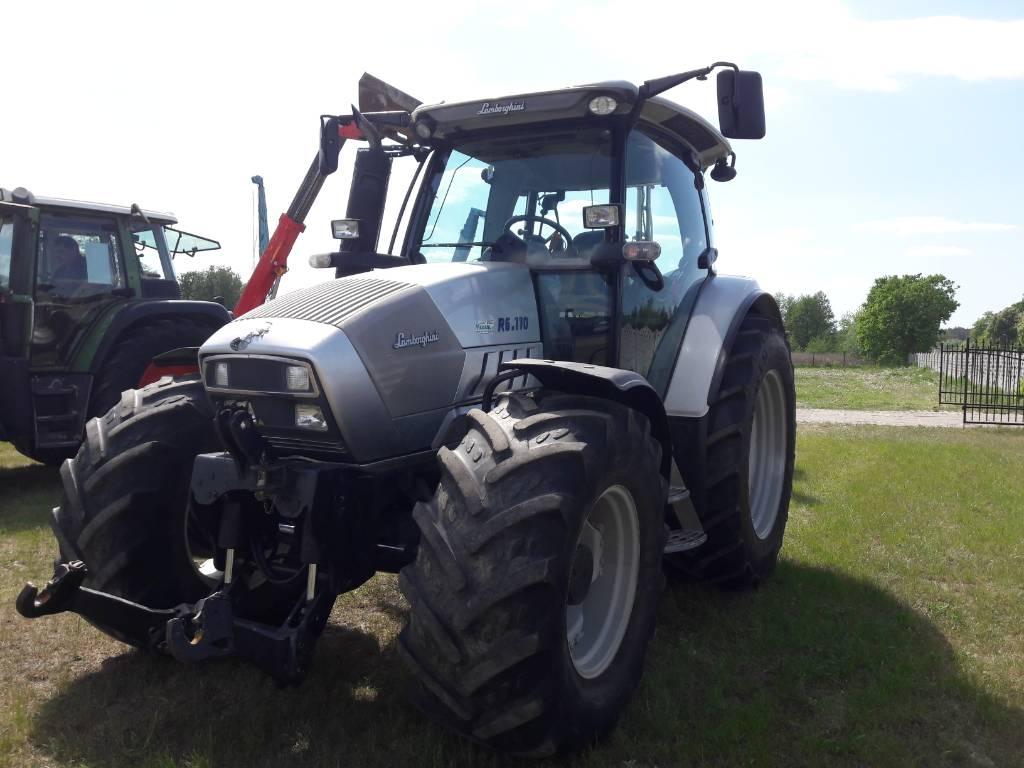 Lamborghini R 6.110, Traktory, Maszyny rolnicze