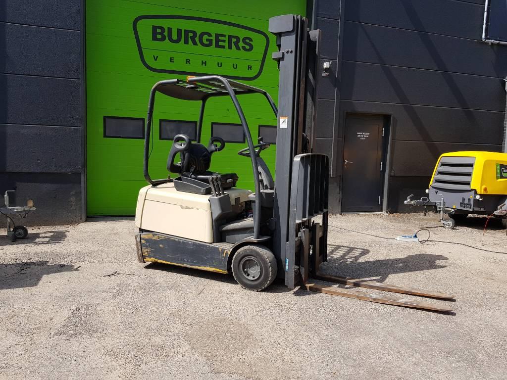 Crown SC 3016, Elektrische heftrucks, Laden en lossen