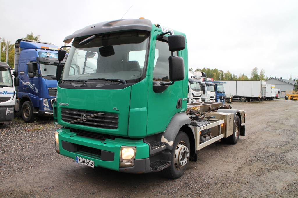 Volvo FL 240 4x2, Vaihtolava-autot, Kuljetuskalusto