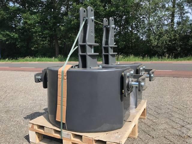 Fendt 900 kg, Frontgewichten, Landbouw
