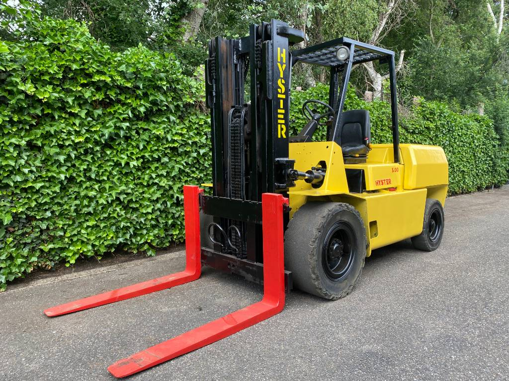 Hyster H 5.00 XL   CONTAINER SPEC, Diesel trucks, Material Handling
