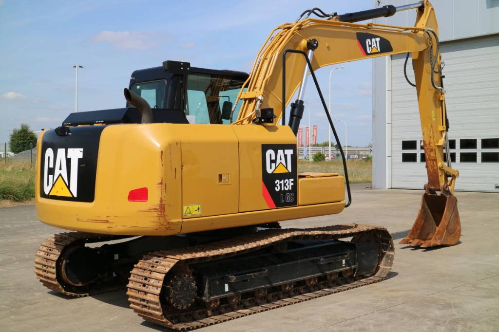 Caterpillar 313FLGC, Crawler Excavators, Construction Equipment